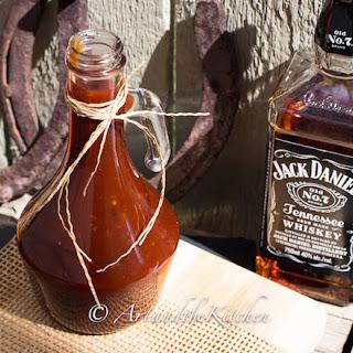 Homemade Jack Daniel's BBQ Sauce.