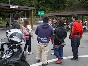 Photo: 出発前のおしゃべりタイム(^_-)-☆