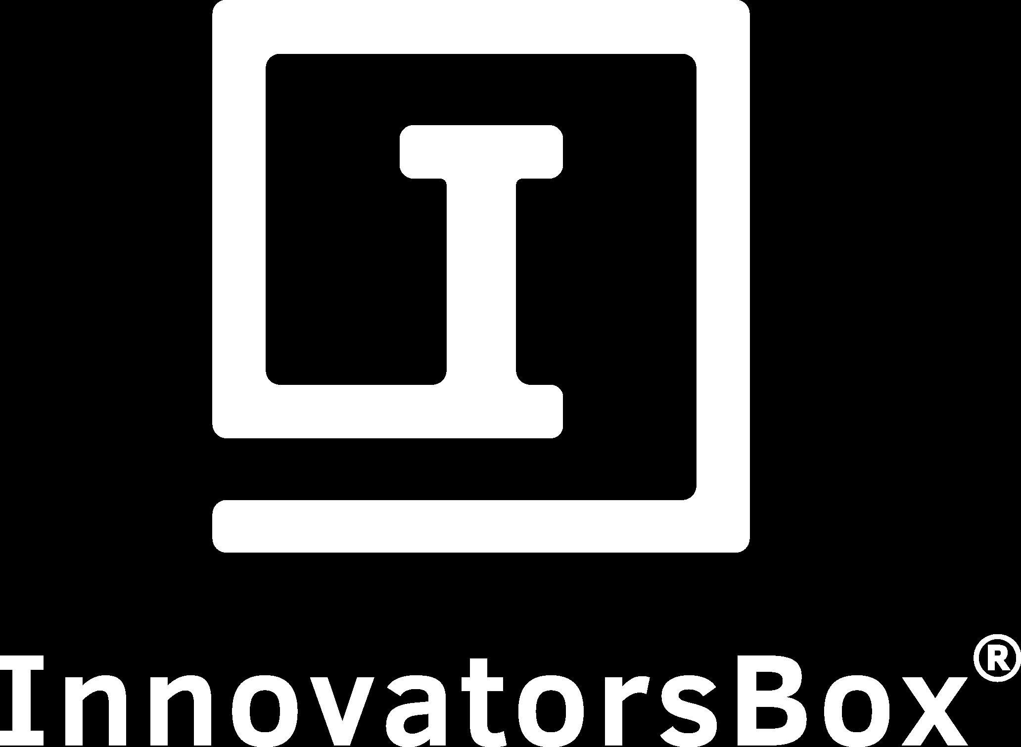 InnovatorsBox Logo - White