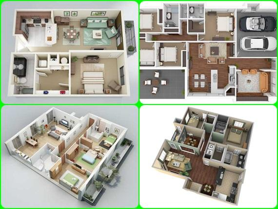3d modern house plan android apps on google play for Play plan