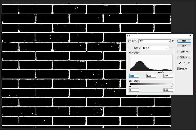 PhotoShop刷牆字用aloha色版來製作,其實就是這麼簡單