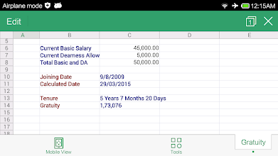 Gratuity Calculator screenshot thumbnail