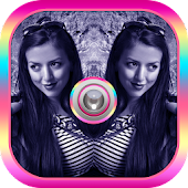 Mirror Photo Collage Editor