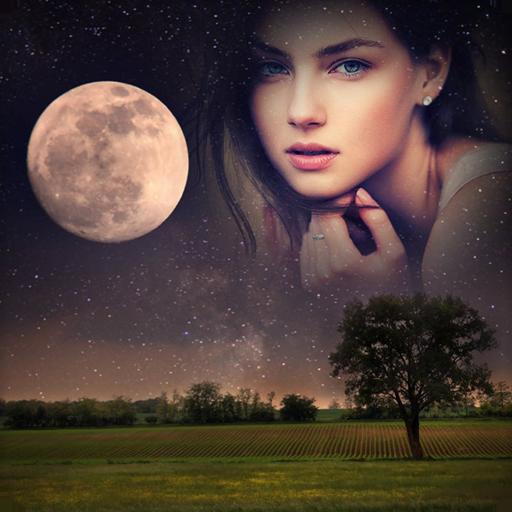 Moon Photo Frames
