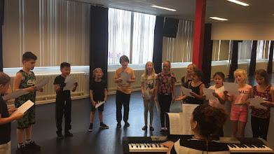 Photo: Auditiedag voor de nieuwe FluXus familiemusical Code Monet (2017 in het Zaantheater)
