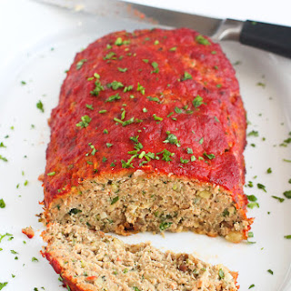 Italian Turkey, Potato & Zucchini Meatloaf
