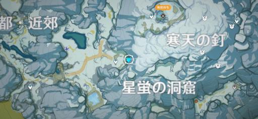 雪葬の都・近郊_マップ