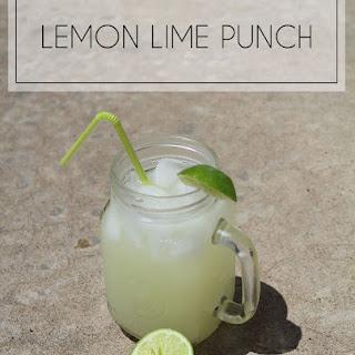 Lemon Lime Punch Recipe