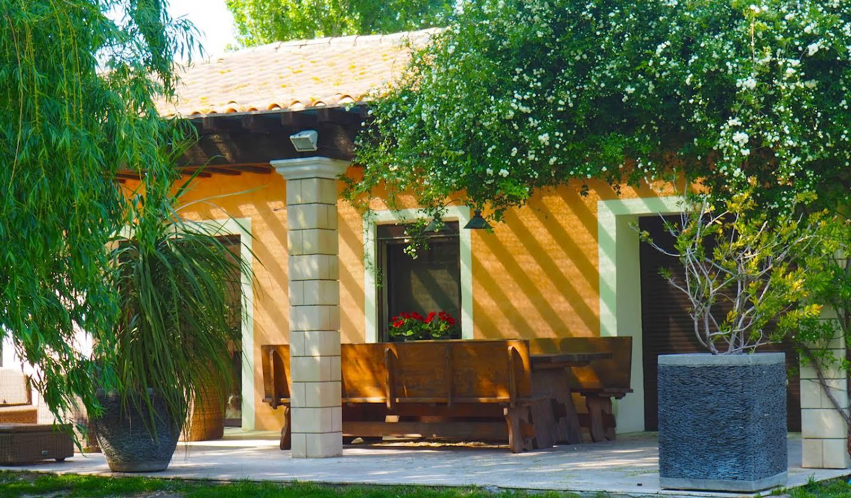Propriété avec piscine et jardin Saint-Rémy-de-Provence