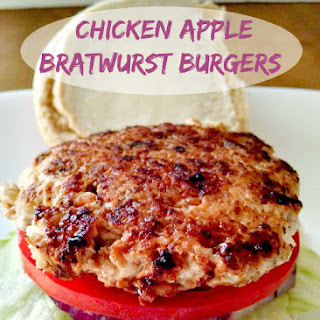 #10DaysofTailgate – Chicken Apple Brat Burgers