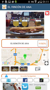 Spanish free tapas (taapas.es)- screenshot thumbnail
