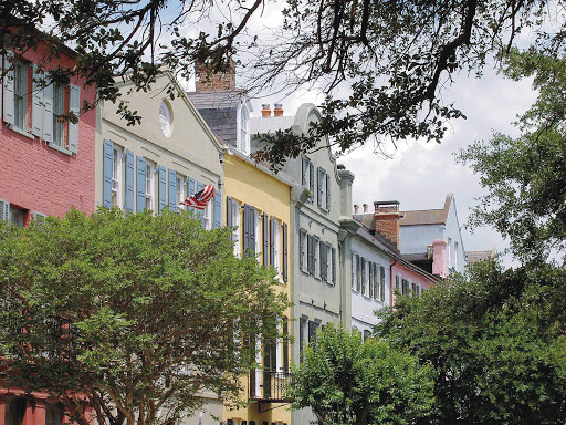 Don't miss Rainbow Row on your visit to Charleston, S.C. The 13 colorful historic houses represent the longest cluster of Georgian row houses in the nation.