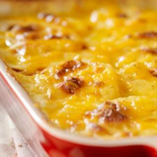 Skinny Scalloped Sweet Potatoes