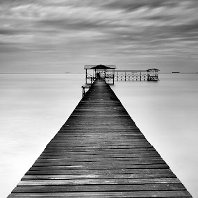 Serenity by Bob Shahrul - Landscapes Waterscapes ( seascapes, nikkor, white, nikon, black )