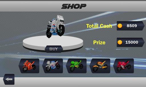 Moto Traffic Night Racing Game