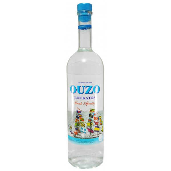 Logo for Loukatos Ouzo