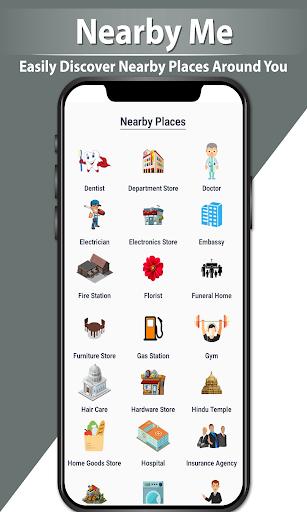 GPS Navigation Route Finder u2013 Map & Speedometer 1.0.6 screenshots 14