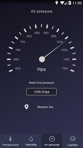 Thermometer - Hygrometer & Ambient Temperature app 2.1 screenshots 3