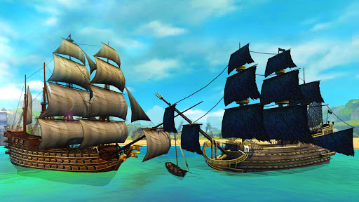 Ships of Battle - Age of Pirates - Warship Battle  screenshots 18