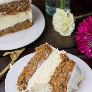Cheesecake Layered Carrot Cake