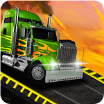 Impossible Tracks Cargo Transport Truck Driving 3D Icon
