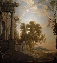 Photo: Mauperché - Paysage palais en ruines.