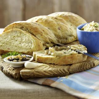 Onion, Rosemary and Bacon Bread.