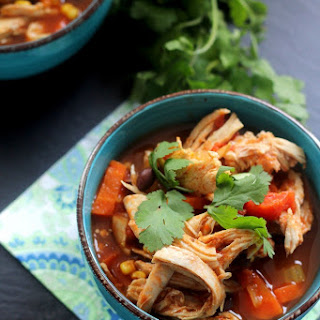 Southwest Chicken Vegetable Soup.