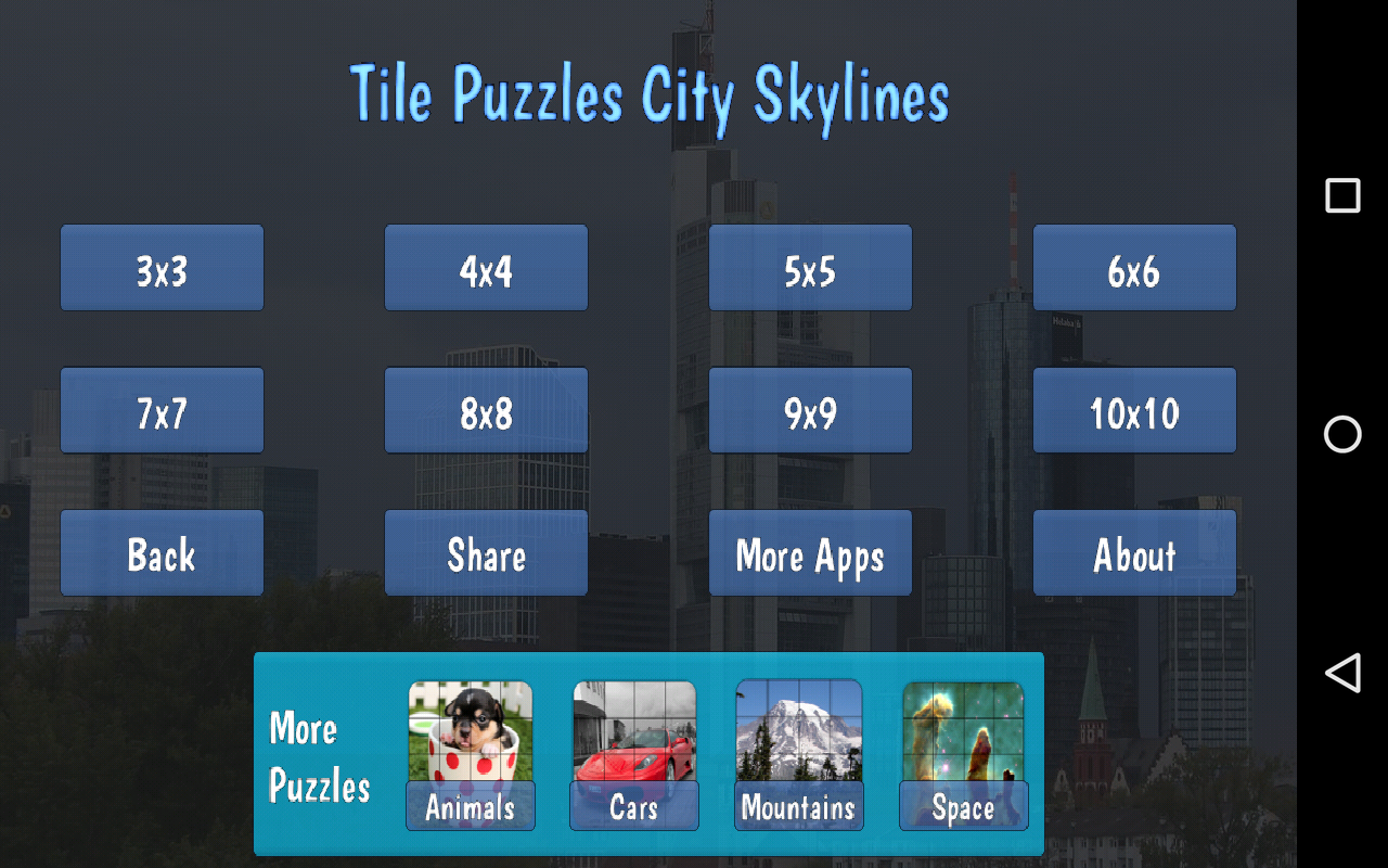 Tile Puzzles · City Skylines- screenshot