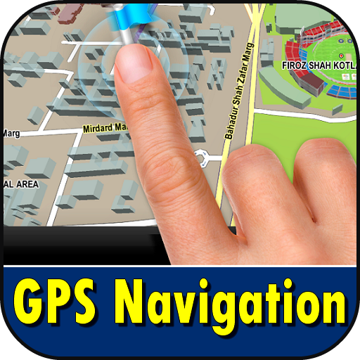 GPS Navigation Satellite Screenshot