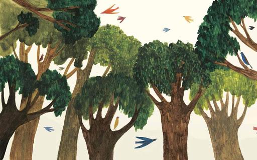 EN forêt - Editions Marcel et Joachim - Blog illustration jeunesse - Illustre Albert - Bookletter