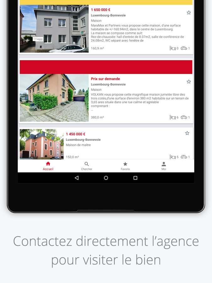 atHome Real Estate Luxembourg- screenshot