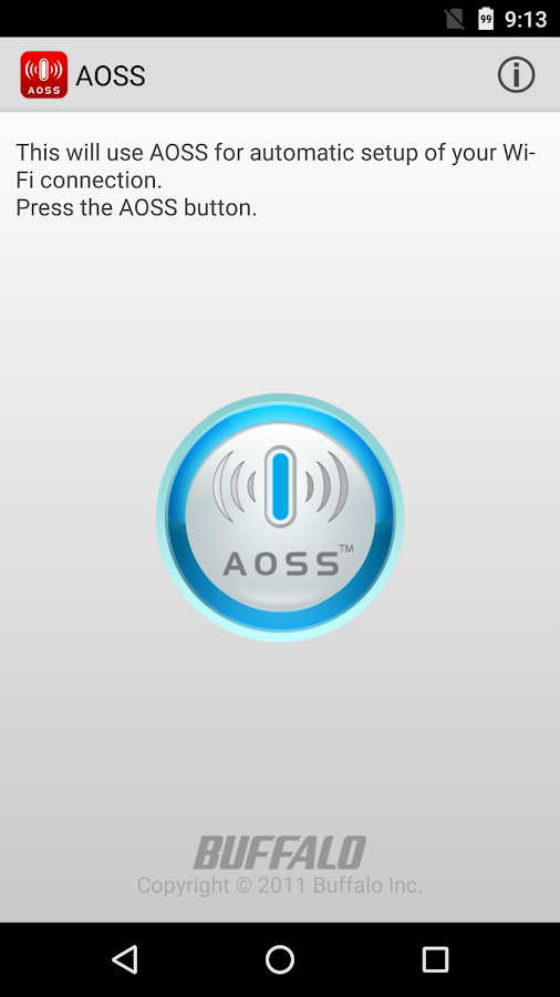 AOSS- screenshot
