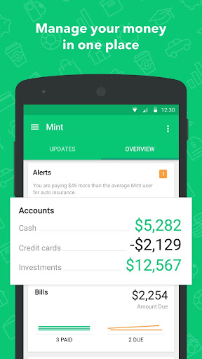 Mint: Budget, Bills, Finance  screenshots 1