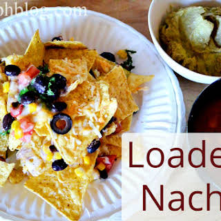 Super Loaded Nachos.