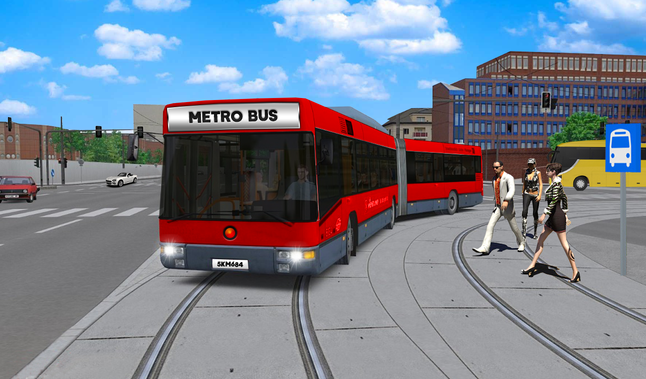 Metro Bus Game : Bus Simulator- screenshot