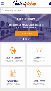 Instant Pickup Laundry App- screenshot thumbnail