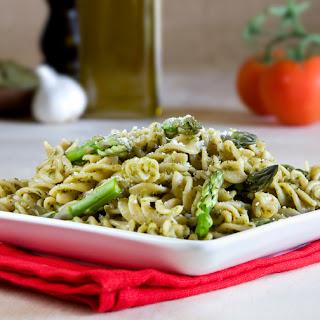 Kale, Asparagus and Chickpea Pesto