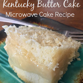 Kentucky Butter Cake - Microwave Cake