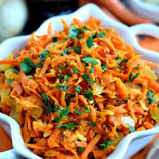 Braised Mustard Carrots