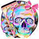 Pink Colorful Bowknot Skull Theme APK