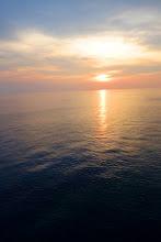 Photo: A beautiful sunset