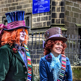 by Betty Taylor - People Street & Candids ( dressing up, couples, colours )