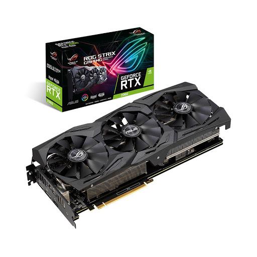 Card màn hình/ VGA Asus ROG Strix RTX 2060 Advanced 6GB GDDR6 (ROG-STRIX-RTX2060-A6G-GAMING)