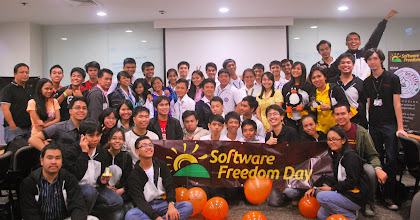 Photo: Software Freedom Day group shot
