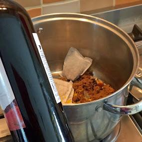 Ingredients for mullen wine by Annalie Coetzer - Food & Drink Ingredients ( ingredients, stopfe top, red wine, food, mullen wine, spices, drinks, pot )
