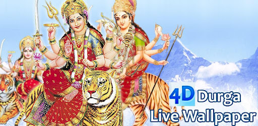 4d Maa Durga Live Wallpaper Apps On Google Play