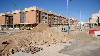 Obras en la calle Santiago