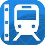 Rail Map - Japan, UK & Worldwide Railway / Subway Icon