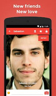 Cerca chat dating & friends- screenshot thumbnail